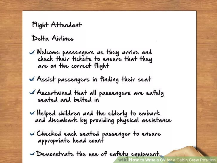 18 best cabin crew images on Pinterest Cabin crew, Flight - american airlines flight attendant sample resume