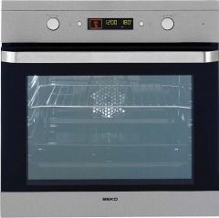 Beko OIM22500XP Single Built In Electric Oven Pyrolytic