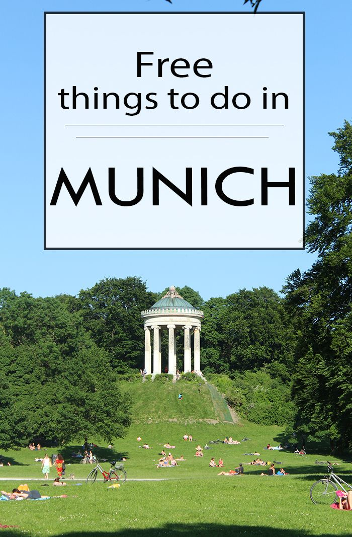 Free things to do in Munich, by Packing my Suitcase.