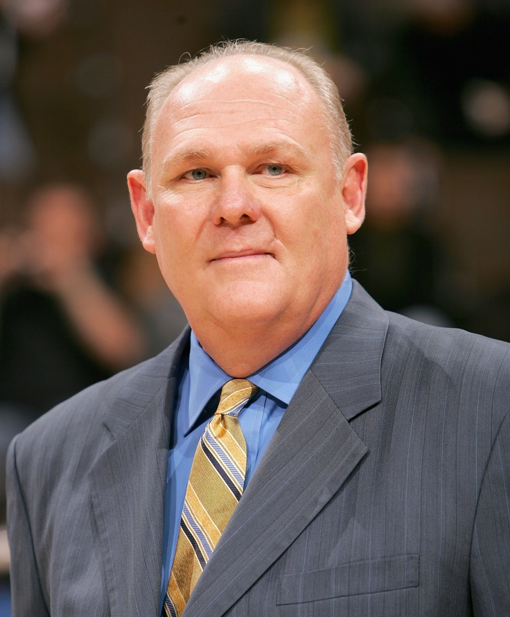 Happy Birthday: George Karl  1951 - George Karl is a former National Basketball Association (NBA) and American Basketball Association (ABA) player. He is the current head coach of the Denver Nuggets. On December 10, 2010 he became the seventh coach in NBA history to record 1,000 wins.  keepinitrealsports.tumblr.com  keepinitrealsports.wordpress.com