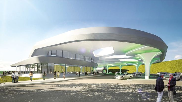 Sortimo, Steinbacher Consult, Innovationspark Zusmarshausen, Germany, electric car, electric cars, electric vehicle, electric vehicles, EV, EVs, EV charging station, EV charging stations, charging station, charging stations, EV charging, architecture, design, green roof, green roofs
