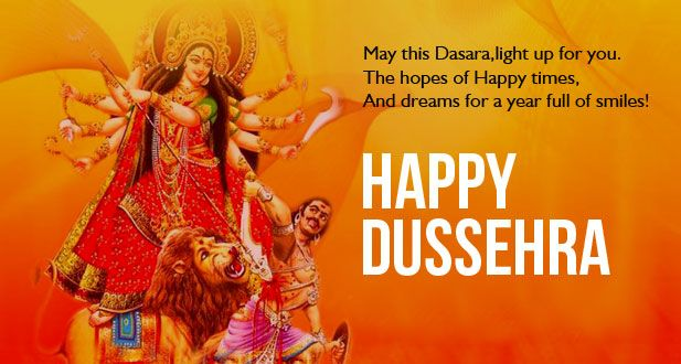 Happy Dussehra Wishes SMS Quote - Quotes 2 SMS