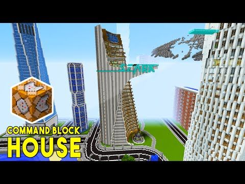 STARK TOWER IN MINECRAFT!! (w/ Command Block Creations