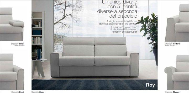 Roy ágygépes kanapé - www.montegrappamoblili.hu