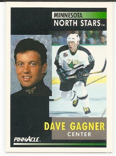 Dave Gagner 1991-92 Pinnacle Minnesota North Stars Card 71 * Learn more by visiting the image link.