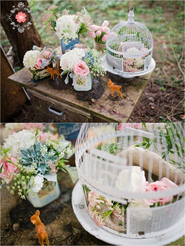 birdcage centerpiece?  floral arrangements by www.celsiaflorist.com  photography by www.cwilliamsphotography.ca
