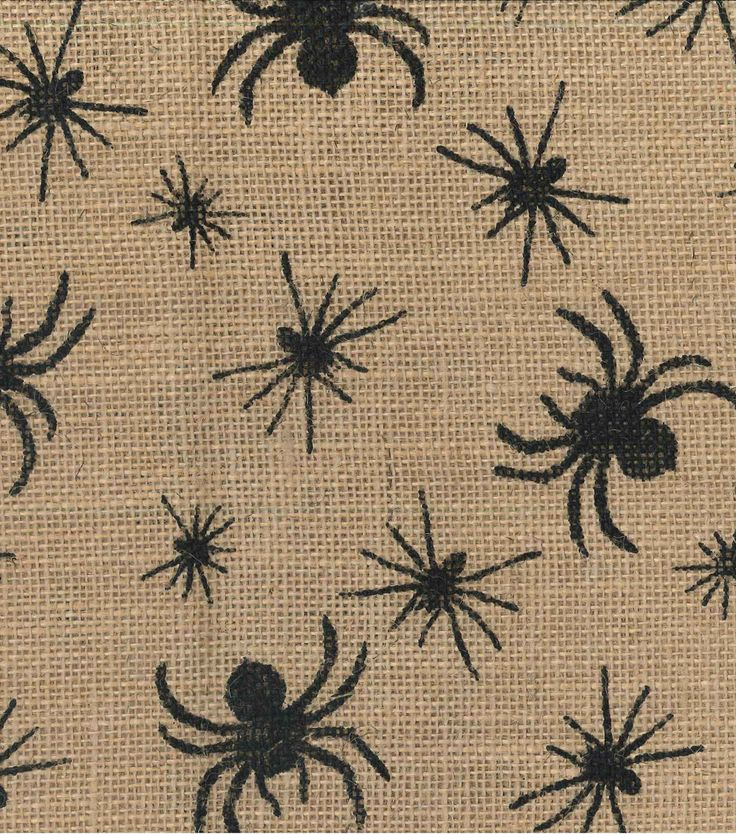 halloween spider fabric