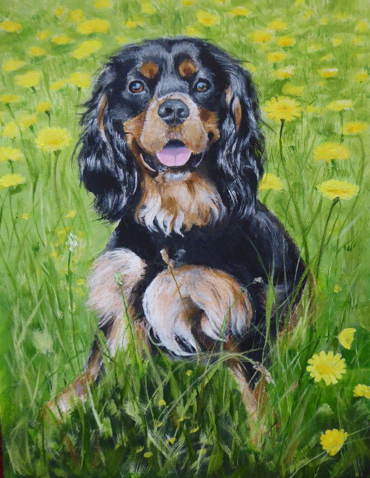 Jasper; acrylic on canvas by Gorica Bulcock