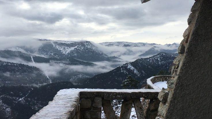 Mirador entrada a la entrada de la sierra
