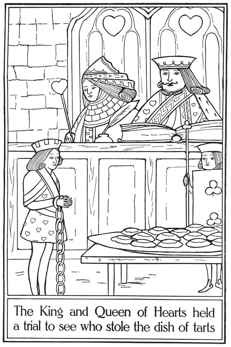 Coloring pages quilt squares - Alice Painting Book Page 12
