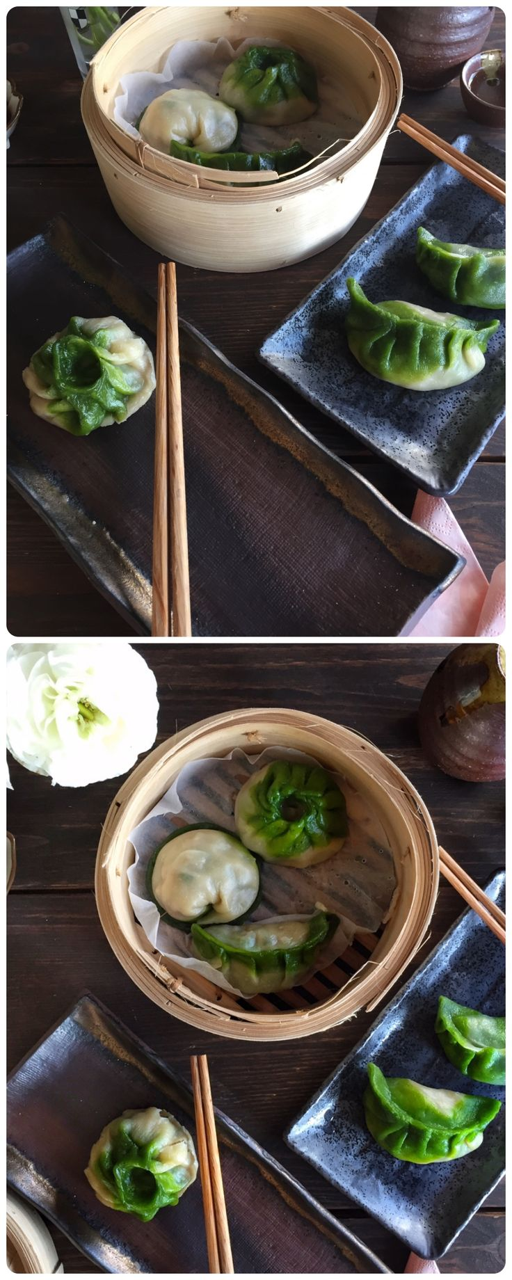Chard & Spinach Dumplings