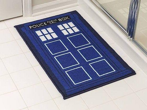 Doctor Who TARDIS Bath Mat – $25