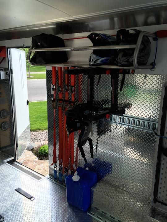 17 Best Images About Motorcycle Trailer Interior On