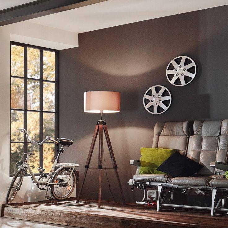 ber ideen zu stehleuchte holz auf pinterest stehlampen stehlampe holz und brilliant. Black Bedroom Furniture Sets. Home Design Ideas