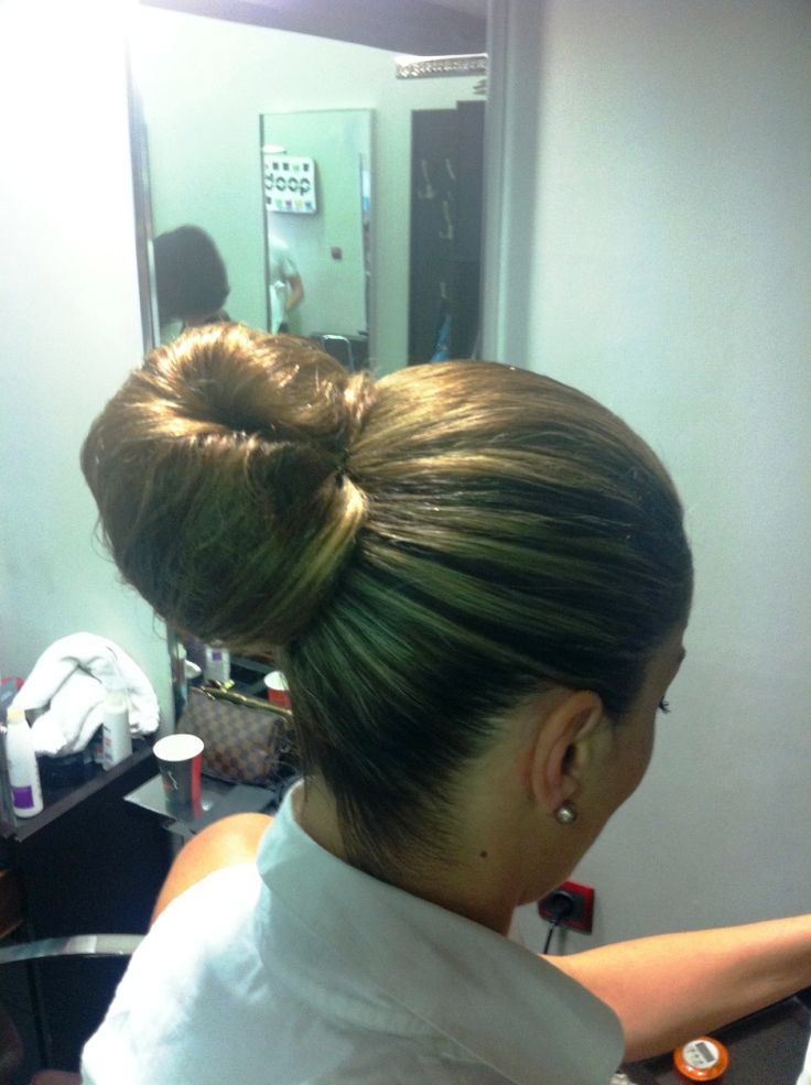 bun #hair #be2in
