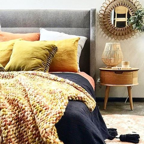 Back to bed NOW When it looks this damn delicious @lifeinteriors another of our gorgeous #kipstockist based in Sydney choc full of the coolest chic living and homewares including a huge range of Kip&Co- Winters coming so get in store or online this weekend to snap up this Winters most divine pieces made by us