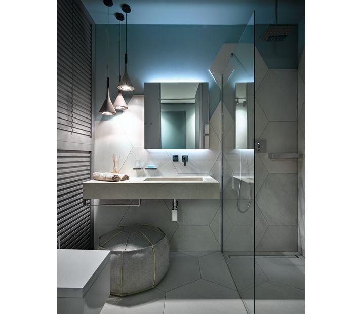 Ванная в квартире на море