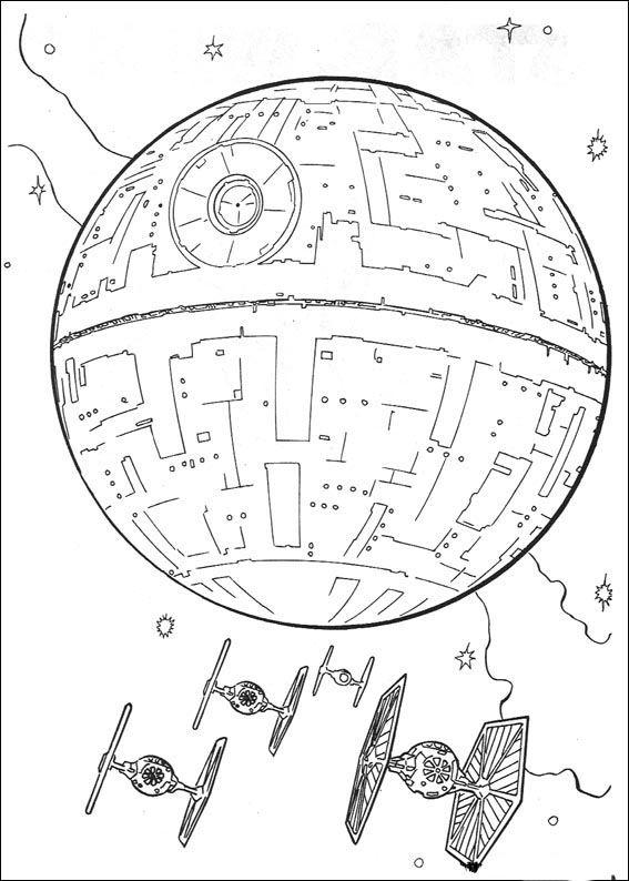 Star Wars Tegninger til Farvelægning 60