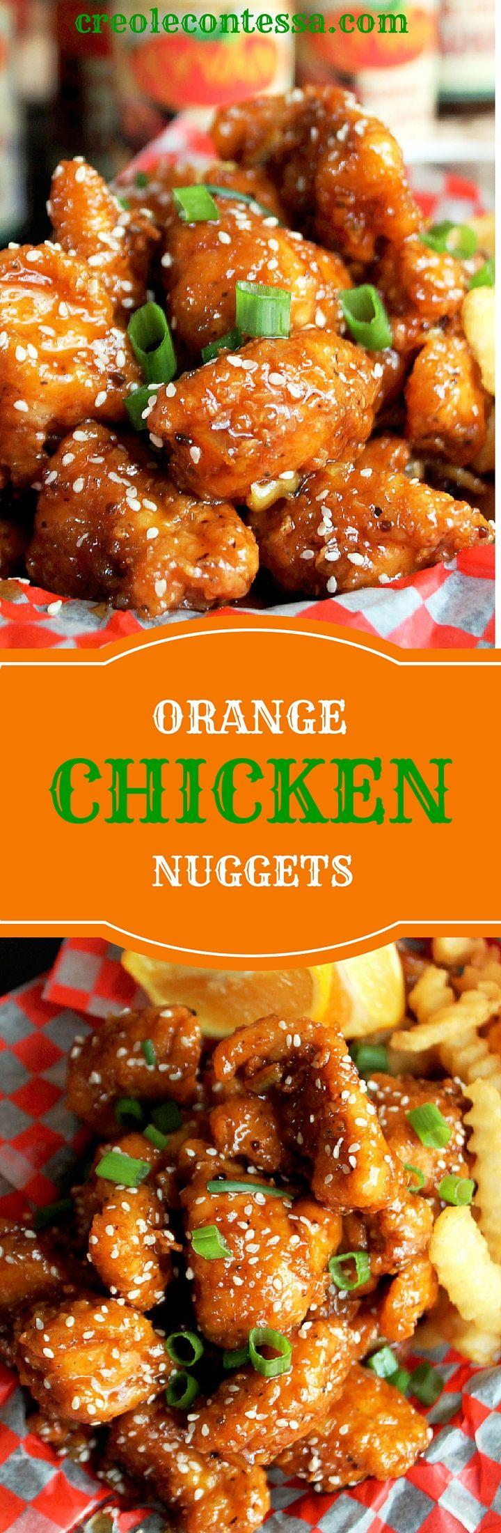 Orange Chicken Nuggets
