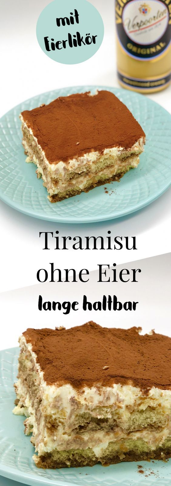 Tiramisu machen ohne Ei Rezept langlebig   – Dessert