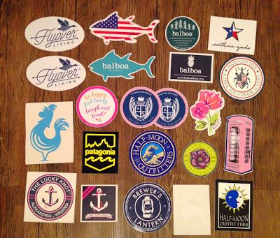 How to get Free Preppy Stickers Part Two | Live The Prep Life