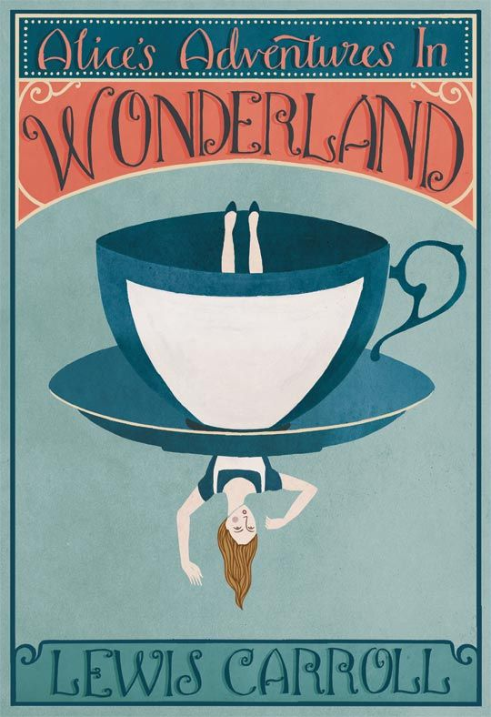 Alice In Wonderland. Everyone should read this...not just see the movie.