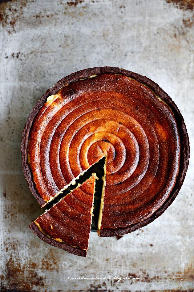 Ricotta Chocolate Torte