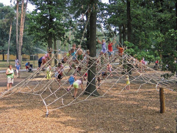 """Voor jong en oud sportief en actief bezig zijn op camping """"De Kleine Wolf"""""""