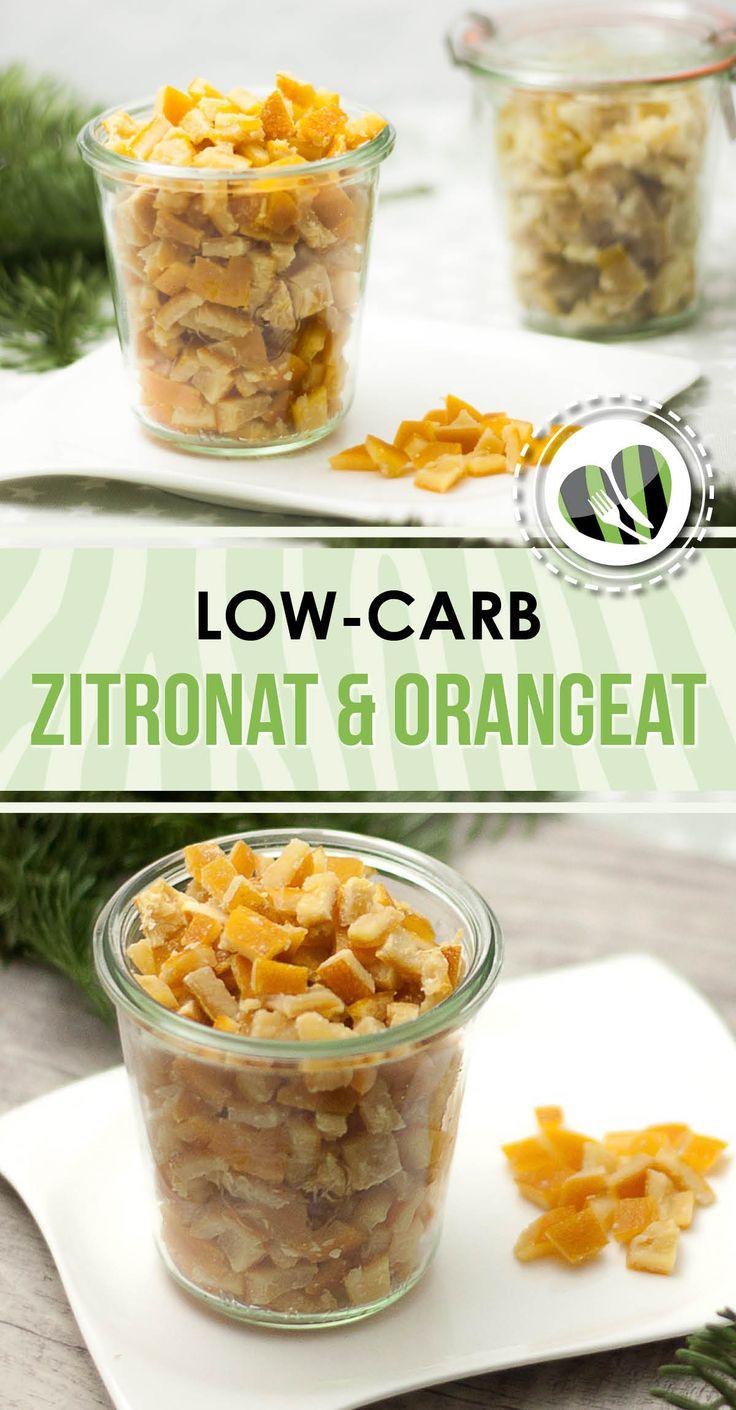 Das low-carb Zitronat und Orangeat ist glutenfrei und einfach zu machen. Es eignet sich perfekt zum Backen.