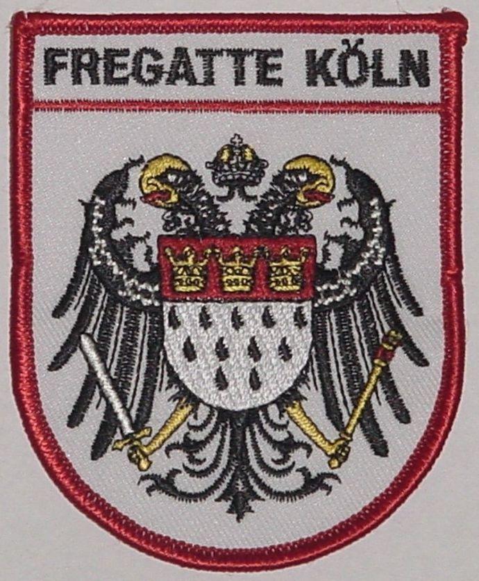 Aufnäher Patch Marine Fregatte Köln F220 / F211