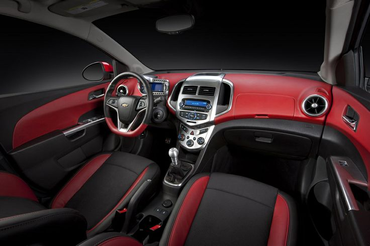 Red and black chevy cruze interior  Cars  Pinterest  Chevy