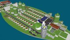 3D Model of Boat city
