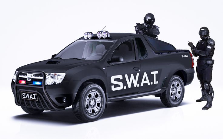 dacia duster pick up swat by gary roswell 007 miscellaneous pick up trucks pinterest swat. Black Bedroom Furniture Sets. Home Design Ideas