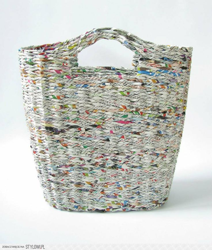 newspaper holder, newspapers, basket - zapleciona