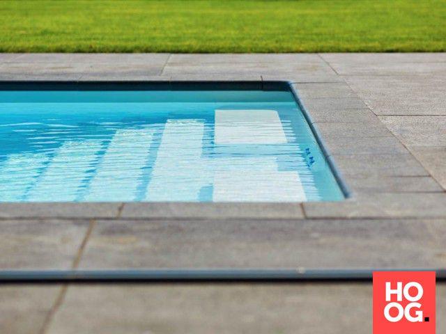 Tuinontwerp met luxe zwembaden   luxe zwembad   zwembad in tuin   swimming pool ideas   Hoog.design