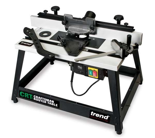 Trend Craftsman Router Table Mk3 240V - power tools - router tables - TREND CRT/MK3 Craftsman Router Table Mk3 240v - Timber, Tool and Hardware Merchants established in 1933