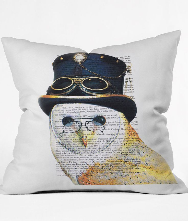 Oui Owl Pillow
