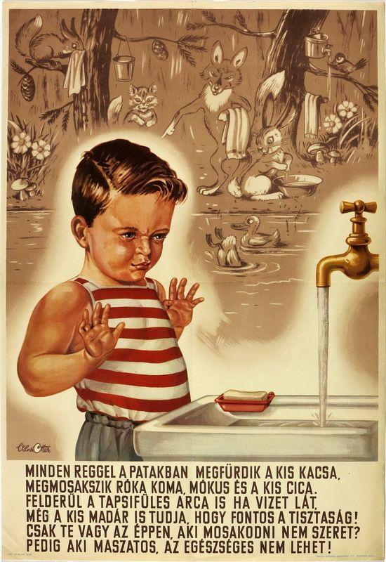 Aki maszatos, az egészséges nem lehet! 1953