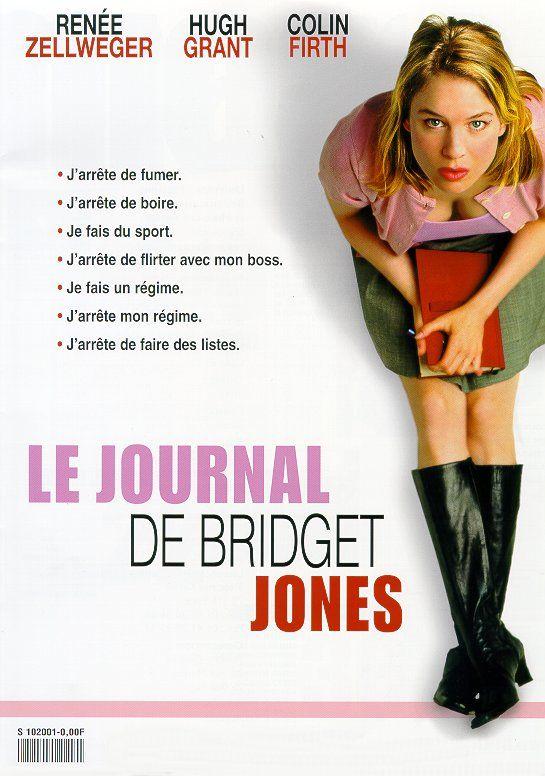 Le journal de Bridget Jones - Pétillante, drôle et touchante. Idéal pour une soirée déprime (avec grignotage si possible)