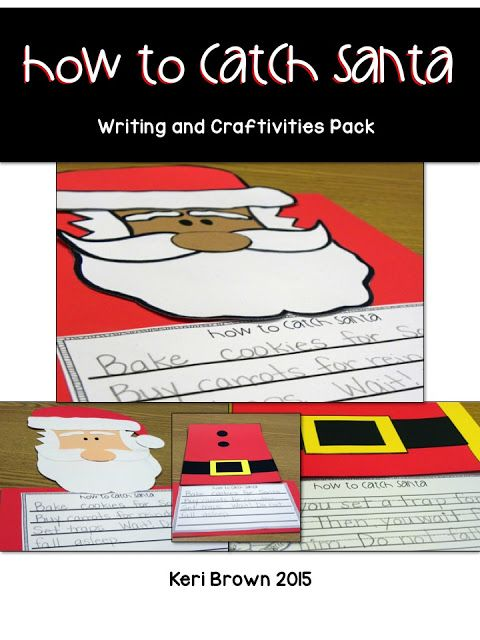 Christmas writing idea for the book How to Catch Santa