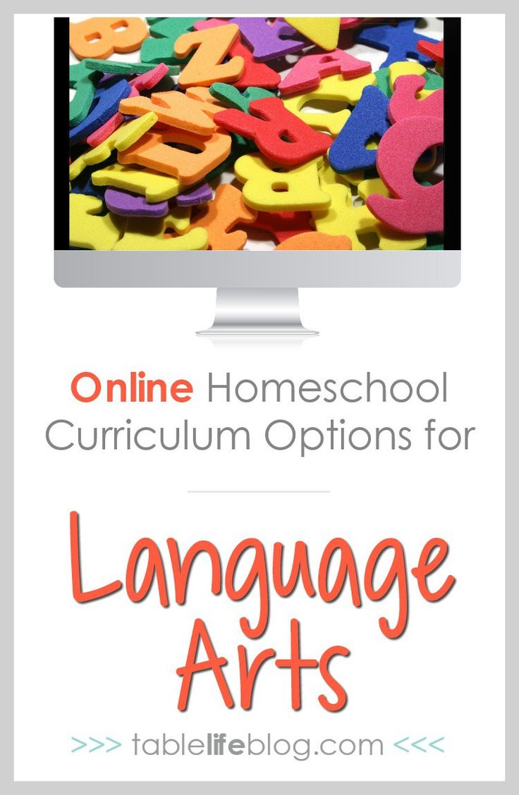 Online Homeschool Curriculum Options for Language Arts