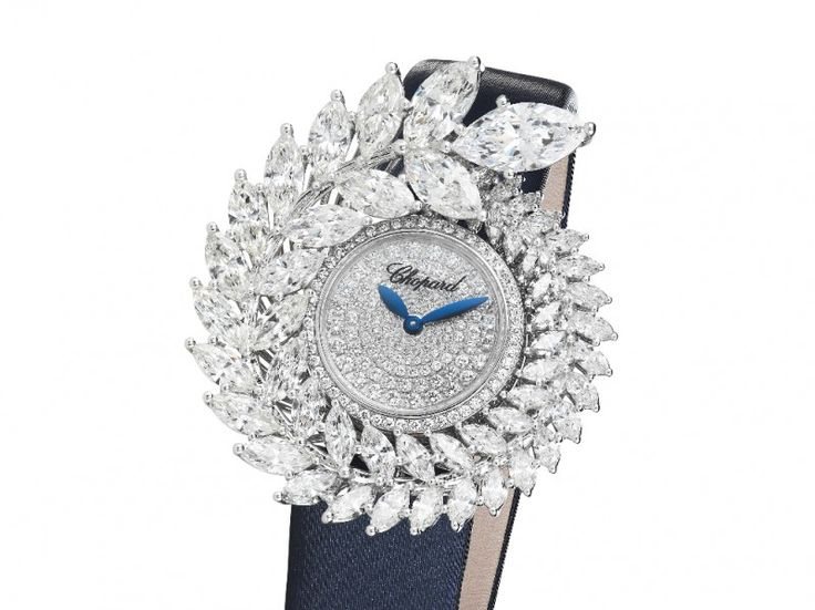 When Haute Couture Meets Fine Watches - A flower that's so Gabrielle, so Chanel