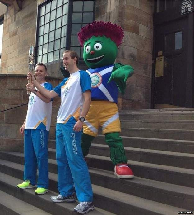 Clyde with Michael Aldridge and Will Mitchell