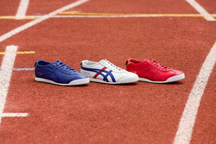 Mit dem Icon Pack zelebriert ONITSUKA TIGER den legendären Mexico 66. Weiß, Blau und Rot sind seit jeher die ikonischen Farben der japanischen Marke, in dieser Dreier Gruppe wird das perfekt transp...