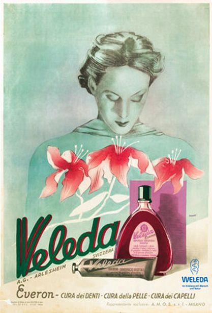 vintage Weleda