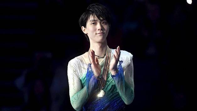 Yuzuru Hanyu world championship 2017 gold medalist