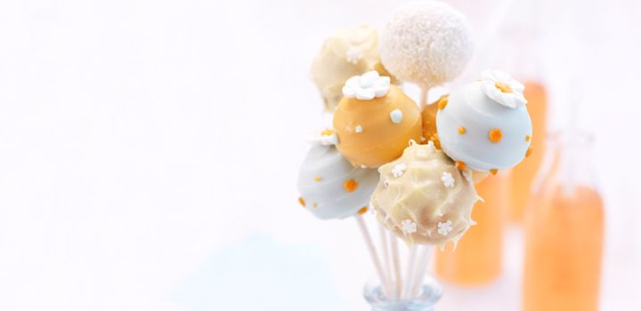 Carrot Cake Pops for a fun Easter treat