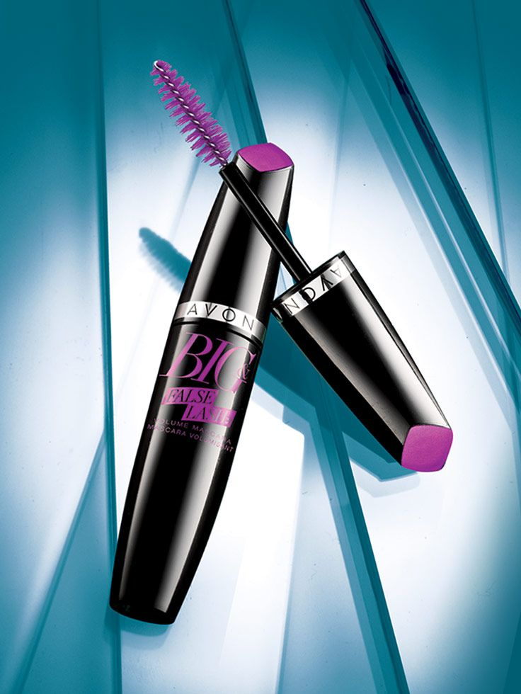 False Lashes? Get Real! Introducing Big & False Lash Volume Mascara! Our fiber blend formula doubles the look of lashes for a glamorous full volume false lash look.