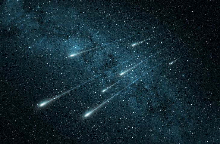 Dueling Meteor Showers Will Light Up The Skies Monday Night