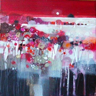 Scottish Artist Emma DAVIS - Autumn Field